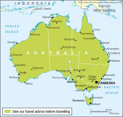 Entry Requirements Australia Travel Advice Gov Uk