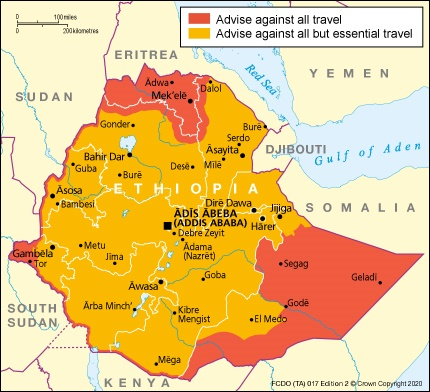 Ethiopia Travel Advice Gov Uk