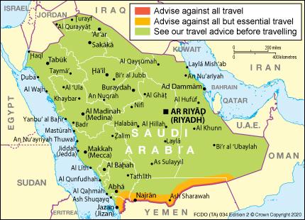 Saudi Arabia Travel Advice Gov Uk