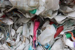 Закройте смешанный мусор